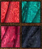 "Best Seller! Stunning Silk Jacquard Cowboy Scarf Collection 42.5 ""x 42.5 "" - Seventeen Colors!"