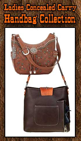 Ladies Concealed Carry Handbag Collection Starting at $68.00!