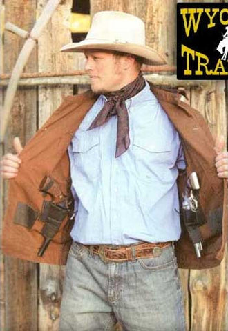 Chisum Old West Concealed Carry Cotton Canvas Jacket