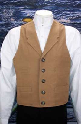 Frontier Classics Dakota Old West Outfit - Vest - Shirt - Pants - Plus options for a Head-To-Toe Outfit