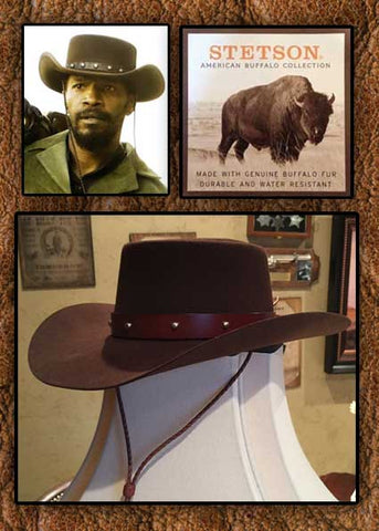 Exclusive! Stetson 4X Buffalo Fur Dejango Style Hat