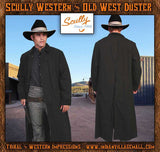 Tombstone Wyatt Earp Style Canvas Duster (OUT OF STOCK)