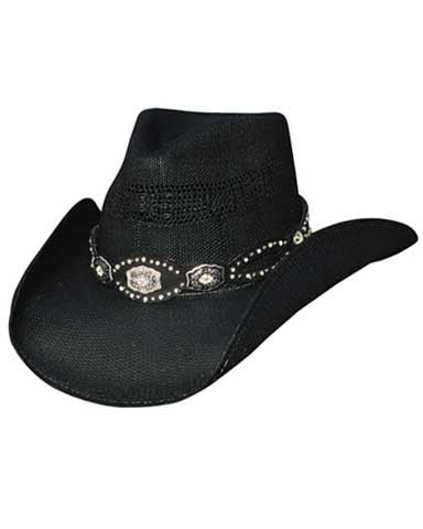 Best Seller! Bullhide Monercarlo Evening Glow - Shapeable Straw Cowgirl Hat -2425BH