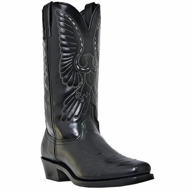 A Best Seller! Black Hawk Lone Ranger Style Old West Cowboy Boot
