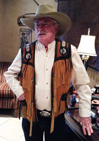 Cowboy And Indian Wild West  Vest