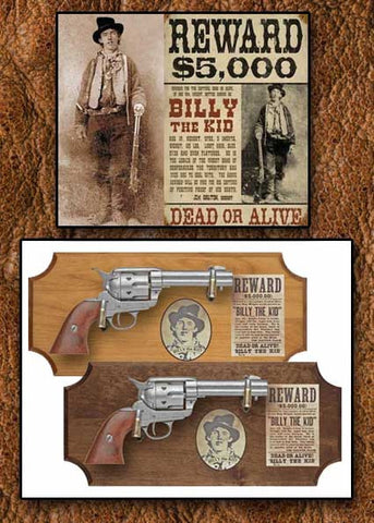 Billy The Kid Old West Deluxe Framed Set
