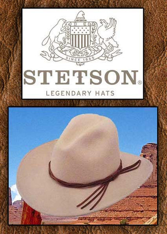 A Best Seller! Stetson Crushable Wool Legendary Lonesome Dove Robert  Duvall Style Gus Hat -Silverbelly