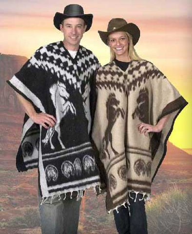 Reversible Horse Poncho