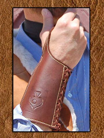 Clint Eastwood Movie Prop Leather Wrist Cuff Reproduction