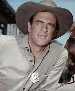 James Arness in Gunsmoke- Marshal Badge