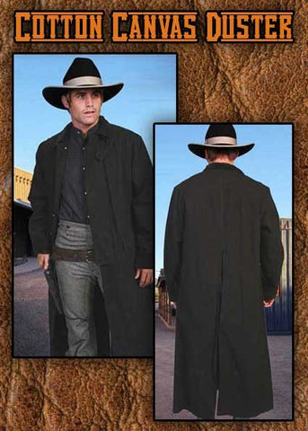 Tombstone  Style Canvas Duster