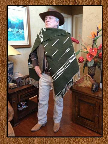 Best Seller! Clint Eastwood Movie Set Poncho Reproduction