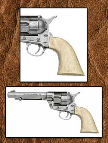 John Wayne M1873 Non-Firing Museum Quality Movie Prop Replica Pistol