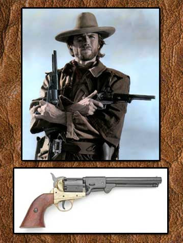 Clint Eastwood Movie Prop Western Cowboy  Long Gun