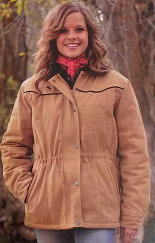 Best Winter Seller! Ladies Canvas Ranch Coat -Fleece Lined -  WTLadyCanvas