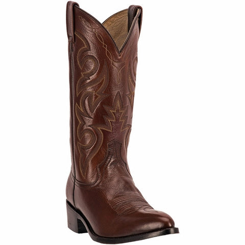 """Doc Holliday"" Old West Dan Post  Cowboy Boot Brown"