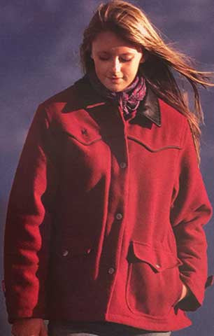 Ladies Wool Ranch Coat - Two Colors - WTLdWoolCt