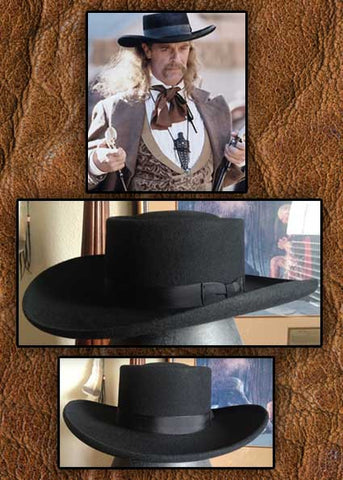 3X Old West Blend Wild Bill Hickok Style Hat