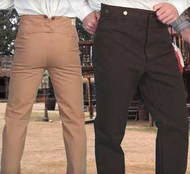 Scully Old West Cotton Canvas Pants