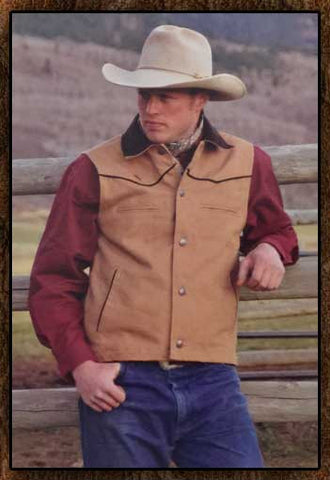 Best Seller! Old West Sheridan Vest -Four Colors