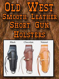 Best Seller! Western Impressions Smooth Leather Holster- Short