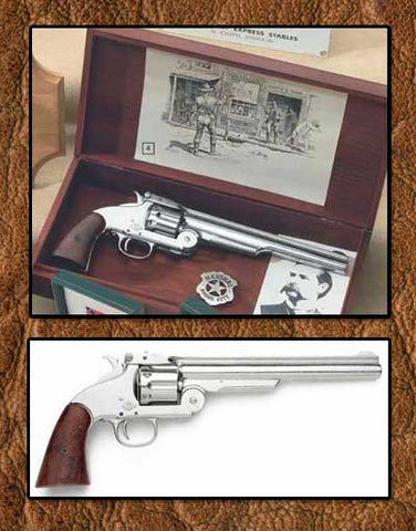 Old West Wyatt Earp Replica Revolver Boxed Set