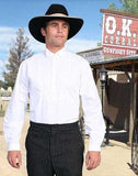 A Best Seller! Scully Old West Wyatt Earp  Tombstone White Shirt
