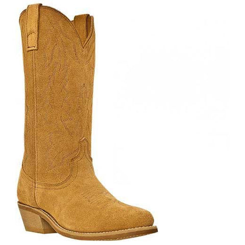Best Seller! Retro Suede Spaghetti Western Cowboy Boots Without Spurs