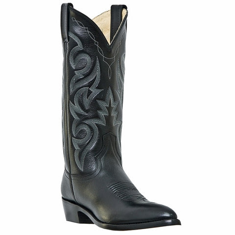 "Dan Post Old West ""Doc Holliday"" Milwaukee Cowboy Boot Black"