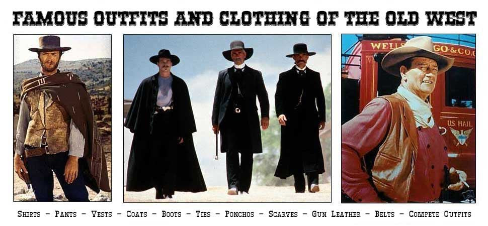 Famous Outfits Of The Old West