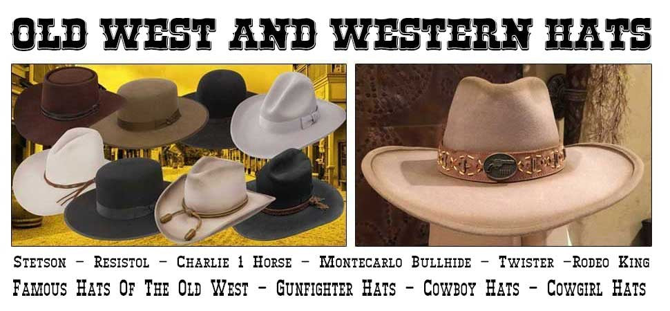 Mens Western And Old West Hats