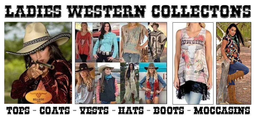 Ladies Western And Old West Collection