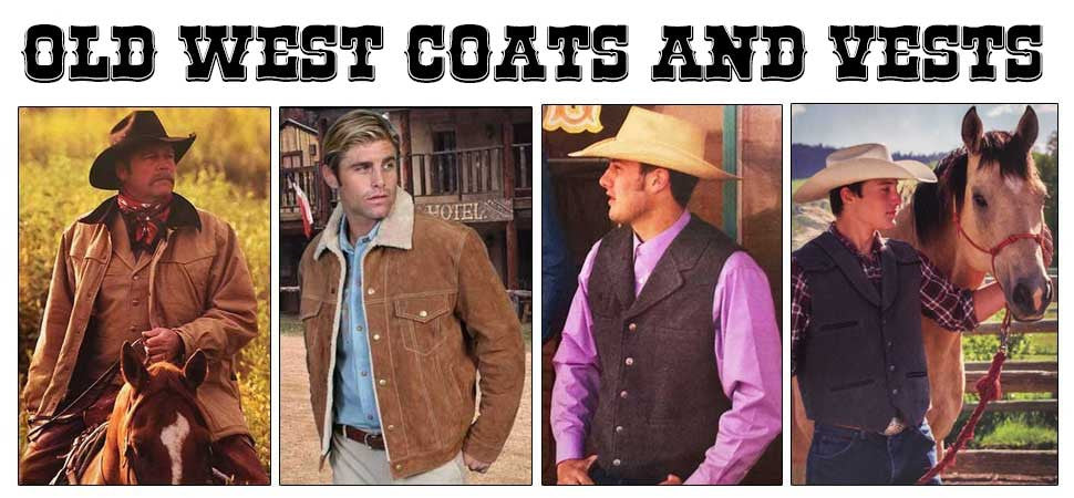 Mens Western And Old West Coats