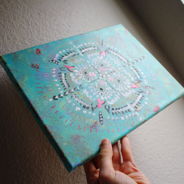 Mandala Canvas ORIGINAL