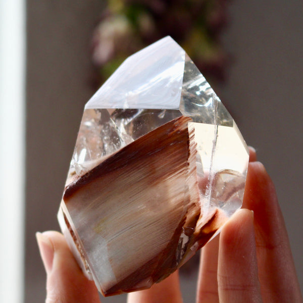 Soul Memory Angel Phantom Quartz Standing Point