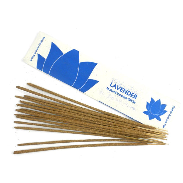 Lavender Natural Incense Sticks
