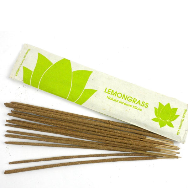 Lemongrass Natural Incense Sticks