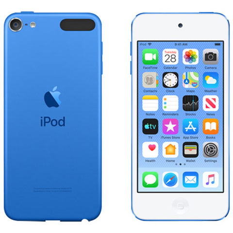 Apple iPod Touch 7e Génération 32GB Blanc / Bleu MVHU2VC/A - Club Electronic