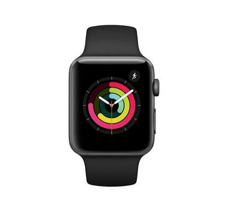 Montre Intelligente Apple Watch Serie 3 (42mm) Gris Cosmique MQL12CL/A - Club Electronic