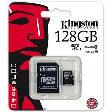 Mémoire flash 128G SDC10G2/128gb class 10 Kingston - Club Electronic