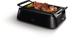 Philips Gril Barbecue Intérieur HD6372 ou HD6371 - Club Electronic