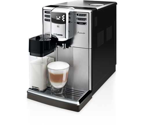 Saeco Incanto Super-machine à espresso automatique 6 boissons, Réservoir de lait intégré, Acier inoxydable, Moulin ajustable (5 réglages) HD8917/47  REFUR - Club Electronic