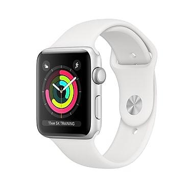 Montre Intelligente Apple Watch Serie 3 (42mm) Alumi Blanc MTF22CL/A - Club Electronic