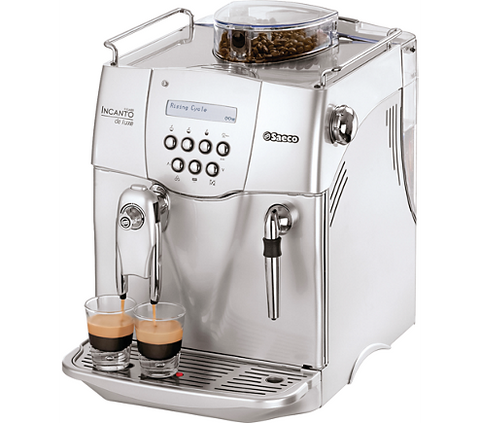 Saeco  Automatic Espresso Machine De Luxe Silver RI9724 refur - Club Electronic
