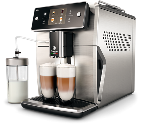 Machine à Espresso automatique XELSIS SM7685/04 Inox - NEUVE - Club Electronic