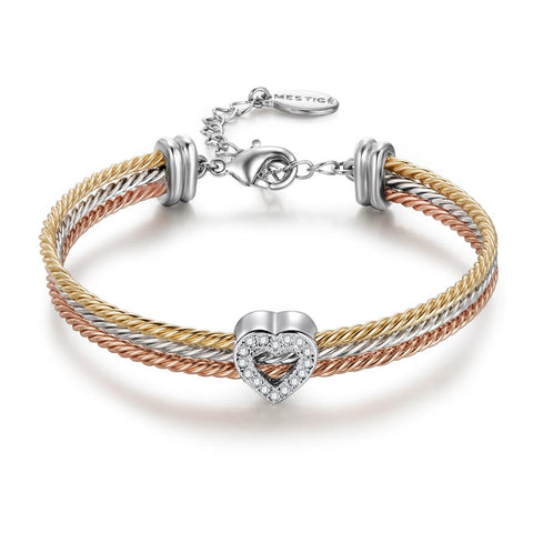 Ardor Trinity Hard Wire Cable Bracelet
