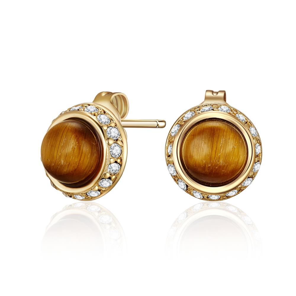 Tiger's Eye Divine Earrings
