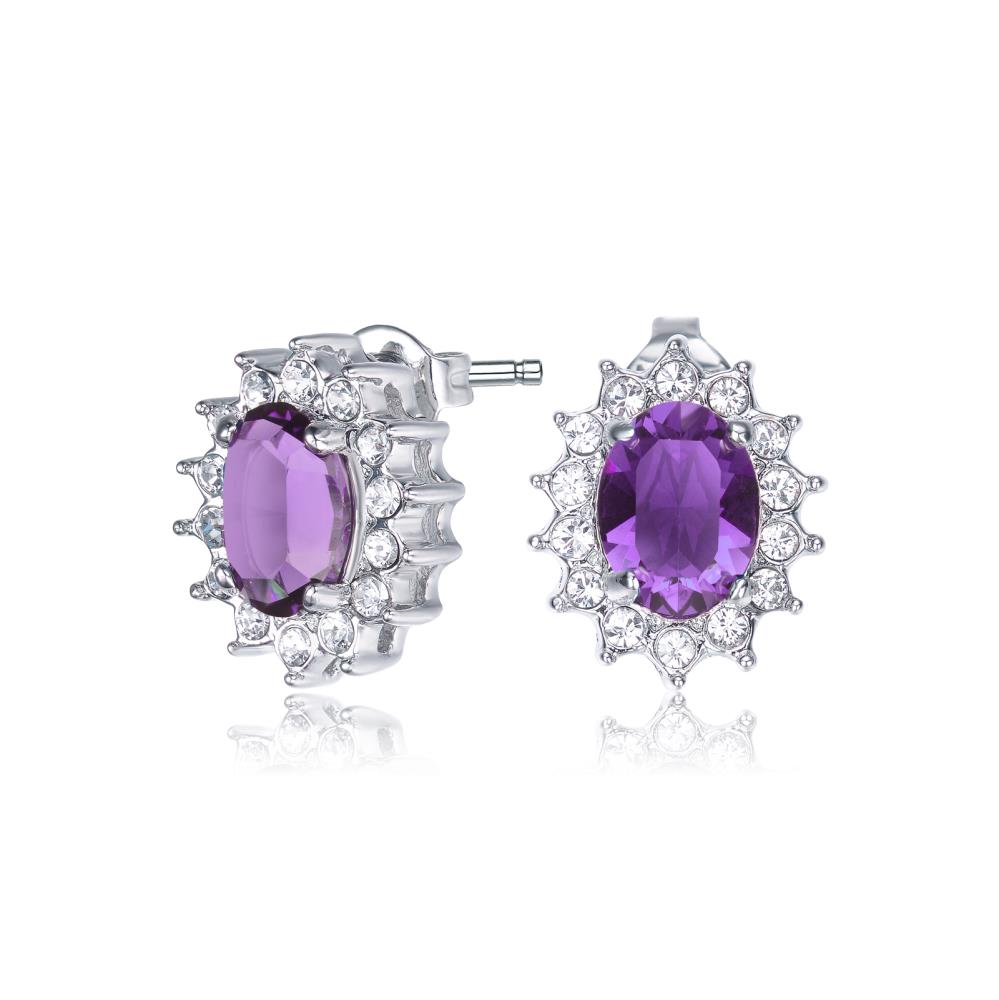 Amethyst Windsor Earrings