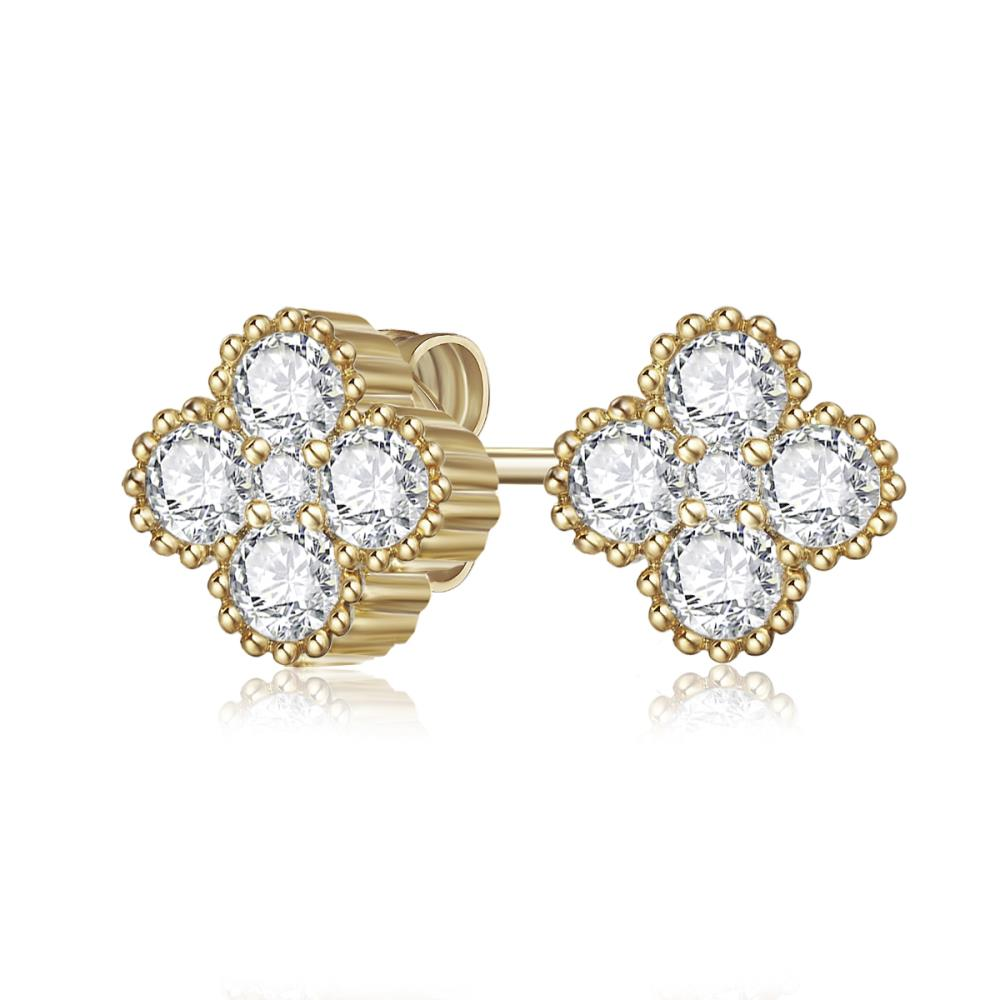 Golden Tulip Earrings
