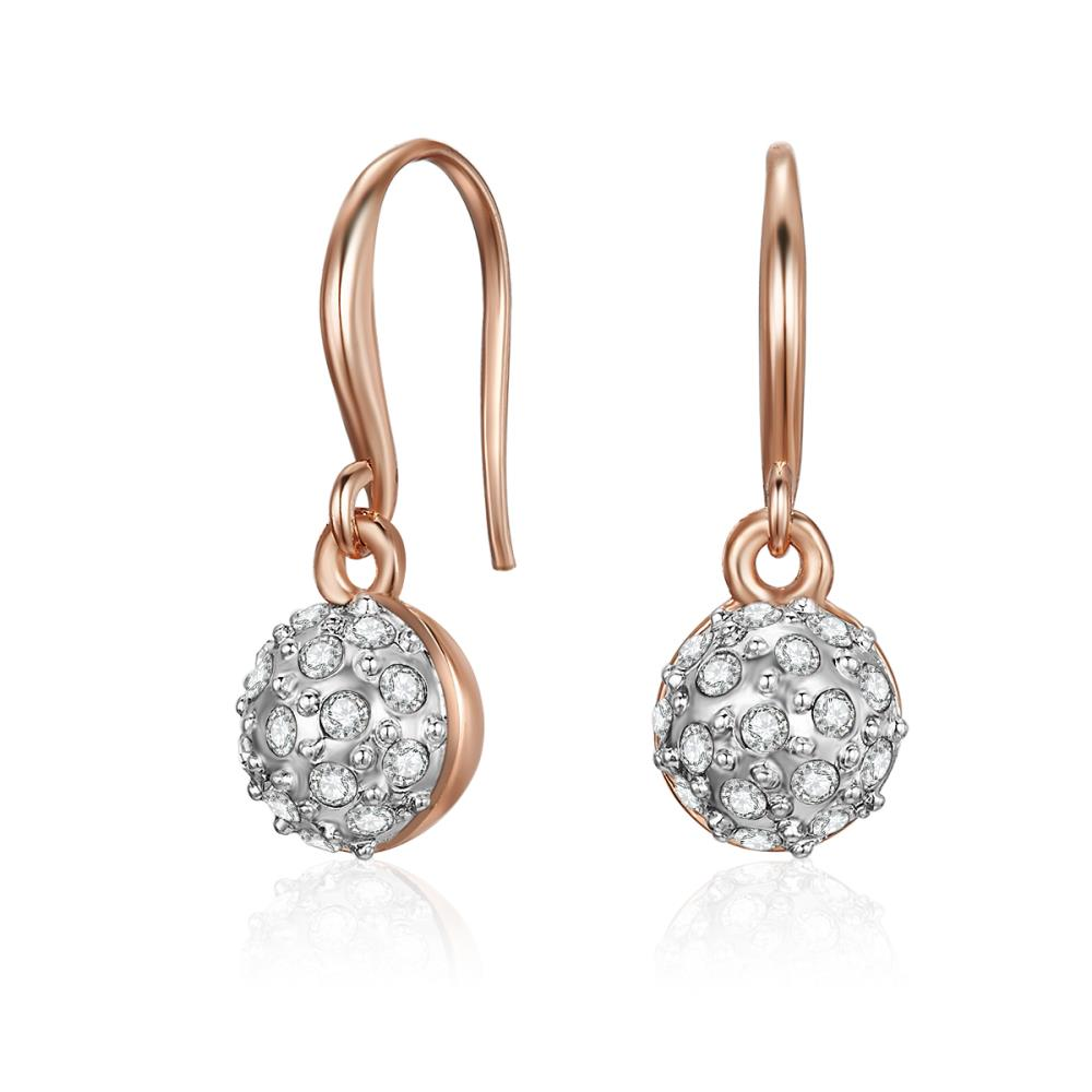 Rose Gold Scarlett Earrings